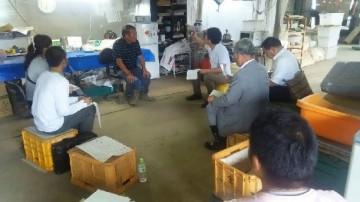 2015年8月27日 農場実施トレーニング つくば市 弊社から計2名受講