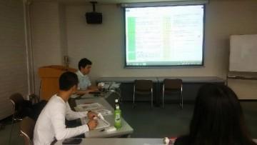 2015年8月28日 トレーニングの検討会 つくば市 弊社から計2名受講