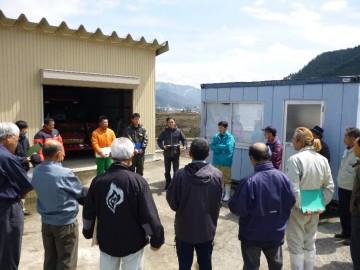 2015年4月9日 AGIC評価委員5名による模擬農場評価